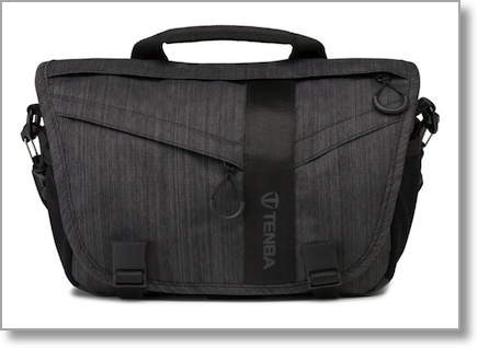 Tenba DNA 8 messenger bag closed