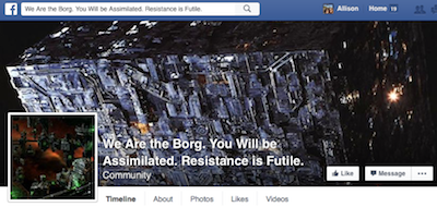 Facebook group for the Borg