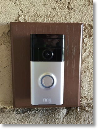 Attractive Ring Mounted The Ring Video Doorbell ...