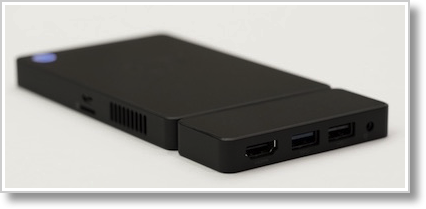Kangaroo closeup of dock showing hdmi, USB & DC charge port
