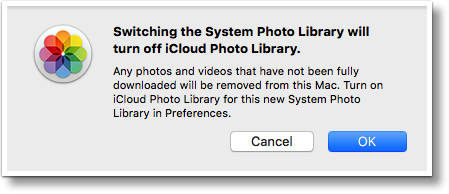 Moving Apple System Photo Library to an External SSD is