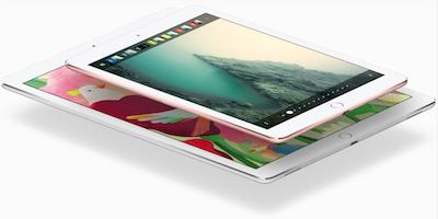 Both sized ipad pros