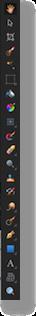 Affinity left sidebar tools