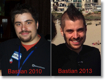 Bastian before after