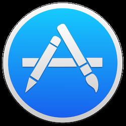 App Store OS X logo
