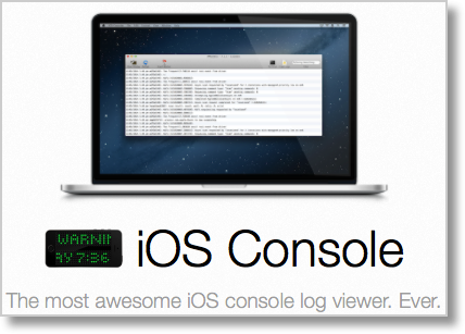 View iOS Logs with iOS Console from Lemonjar - Podfeet Podcasts