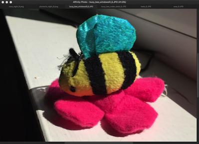 Busybee windowsill 6