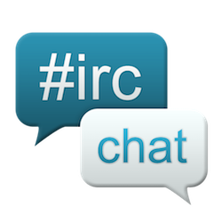 Irc chat logo