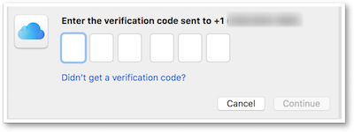 Enter 6 digit verification code