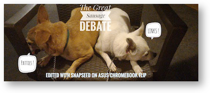George dog cat sausage debate