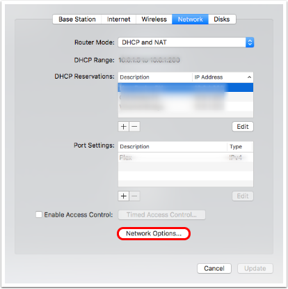 How to Turn Off NAT-PMP on Airport Routers from macOS - Podfeet Podcasts