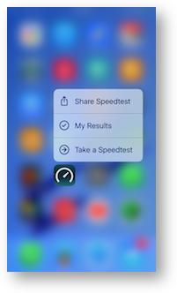 3d touch speedtest