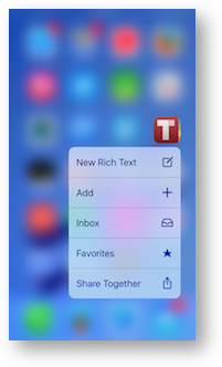 3d touch together