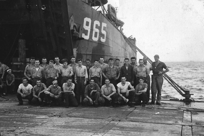 LST 965 Jack Moorhead far right
