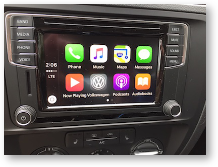 Carplay main screen