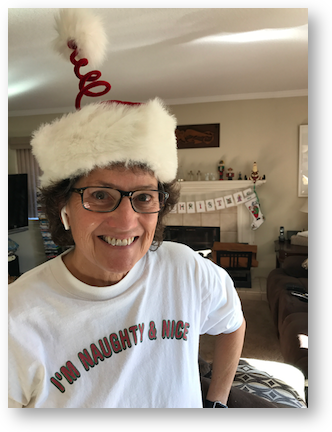 Al airpods christmas hat