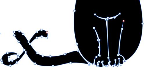 Allister jinx logo bezier curves