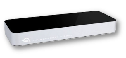 Owc thunderbolt 2 dock angled view