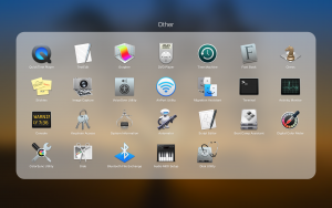 macOS Launchpad – Other folder