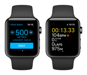 Apple Watch Series 2 swim workout