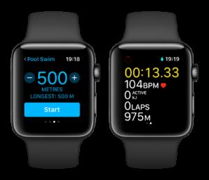 Apple Watch Series 2 swim workout