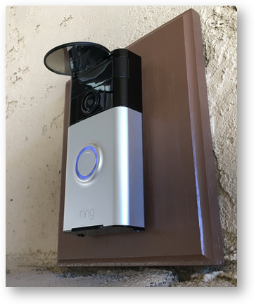 Ring doorbell mod below