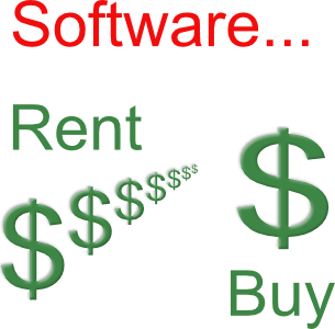 Software rent vs buy