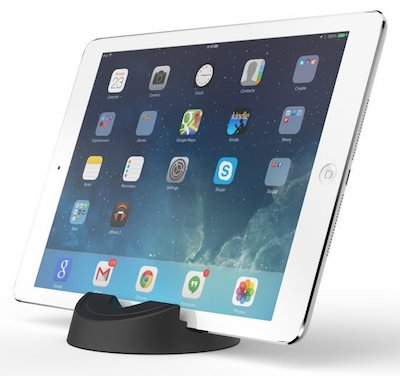 Stump stand with ipad