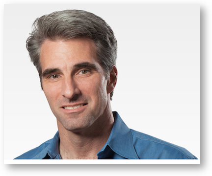 Craig federighi and his hair
