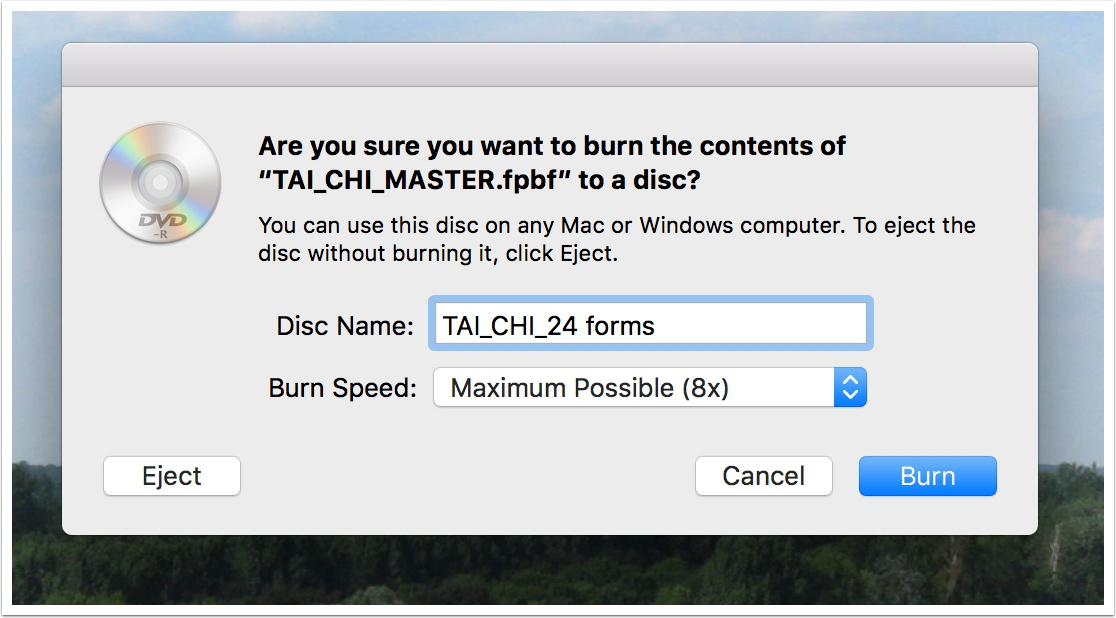How to Duplicate a DVD on macOS Sierra - Podfeet Podcasts
