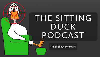 Sitting duck podcast logo