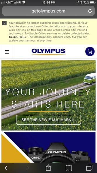 01 olympus cookie tracking