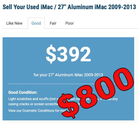 800 not 400 for imac