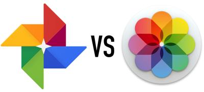 Google photos vs apple photos