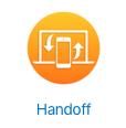 Handoff logo
