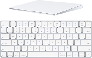 Magic keyboard trackpad