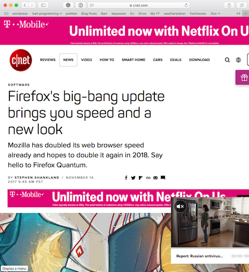 cnet before reader view