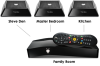 TiVo bolt and 3 minis