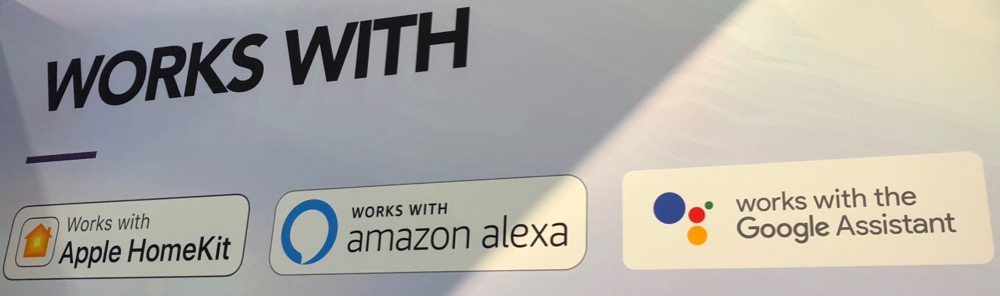 Homekit Alexa google all on one sign