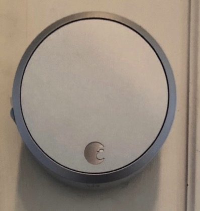 August Smart Lock after