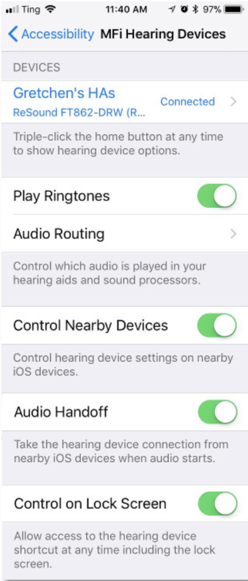 01 MFi hearing devices