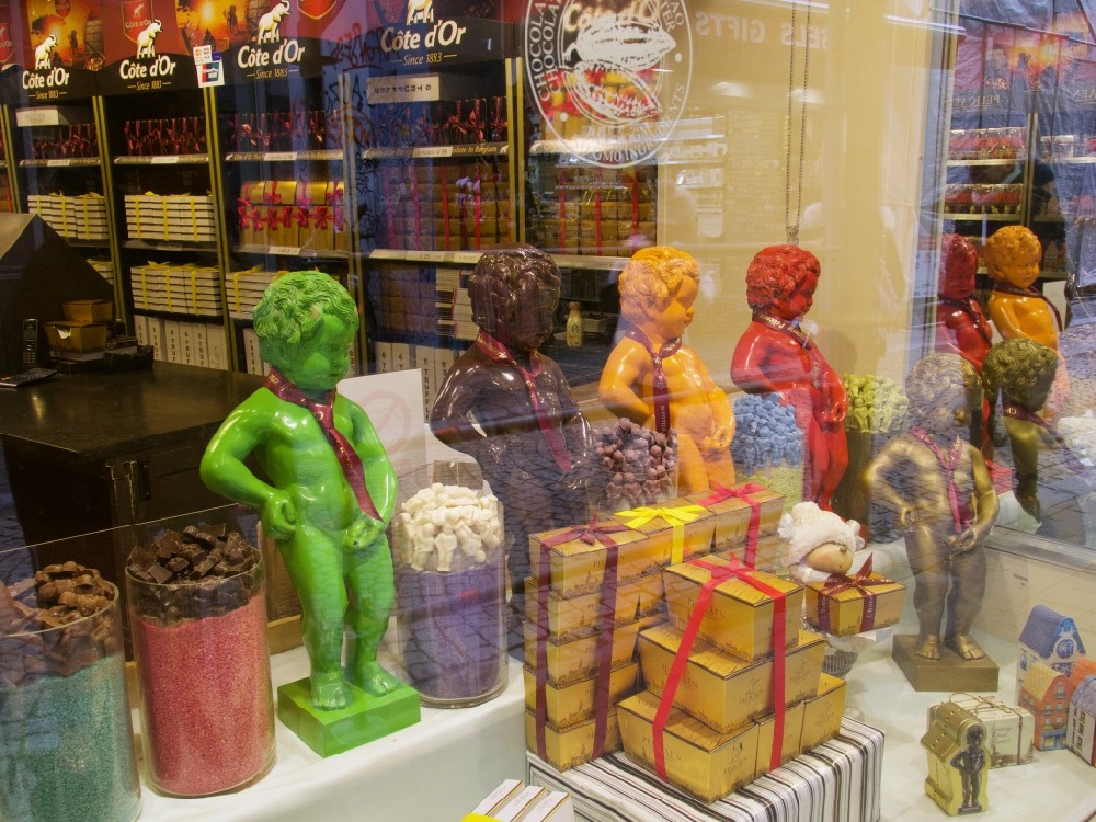 Mannekin Pis chocolate