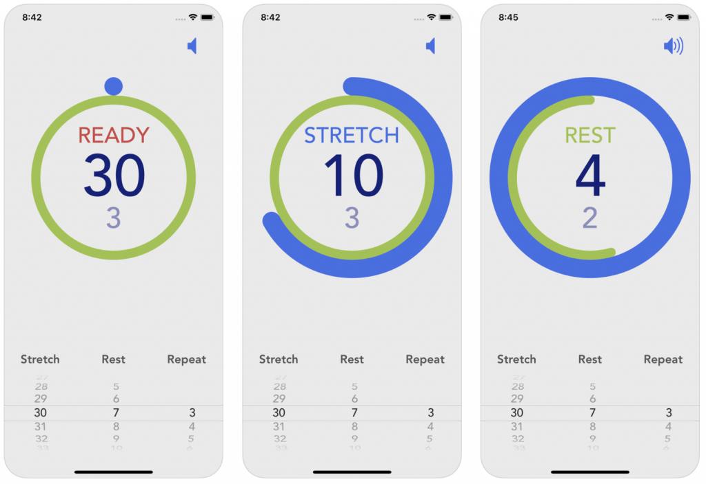 Stretch Timer screenshots