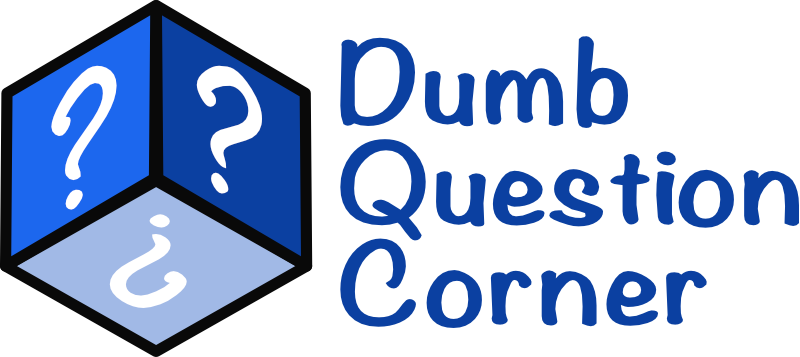 Dumb Question Corner Logo