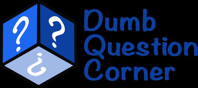 Dumb Question Corner Logo