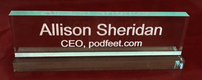CEO podfeet com Allison Sheridan