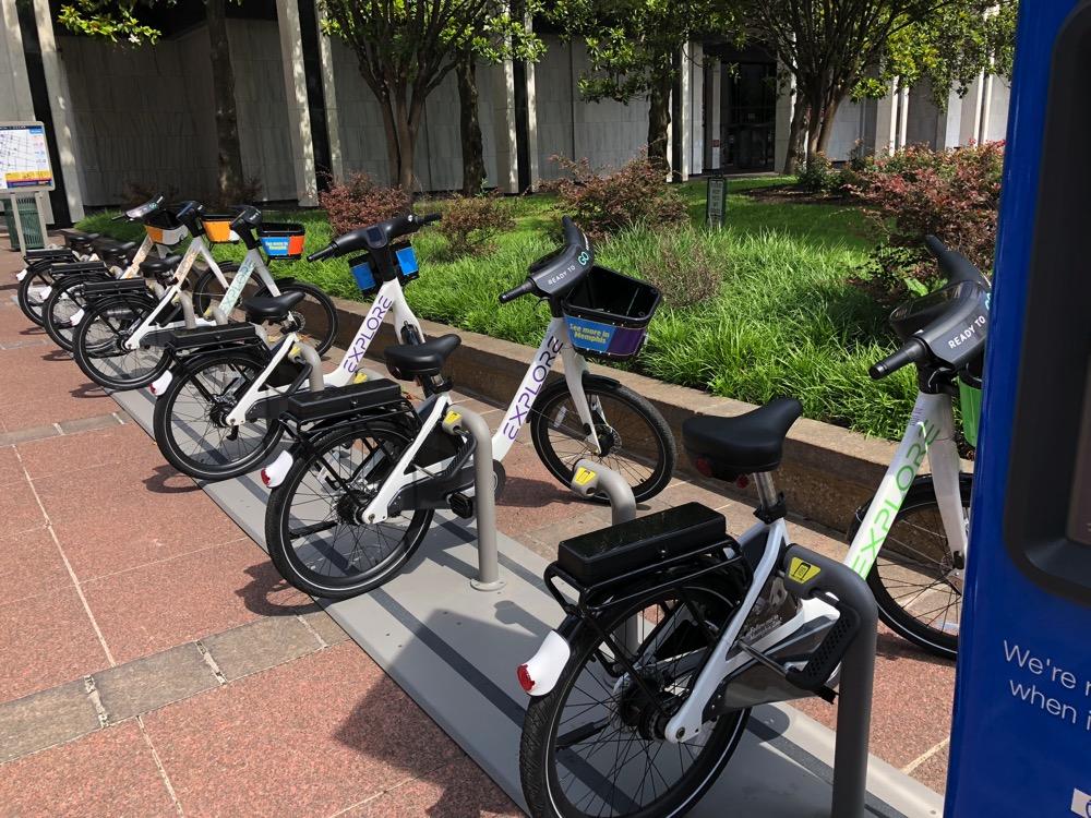 Explore bikeshare bikes