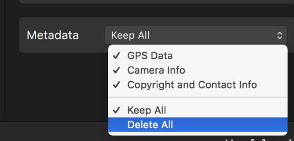 PhotoBulk metadata