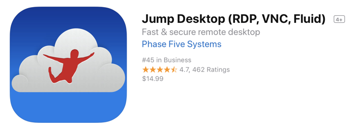 Jump Desktop App Store icon