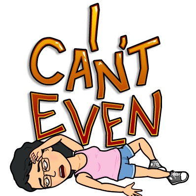 Bitmoji allison i cant even